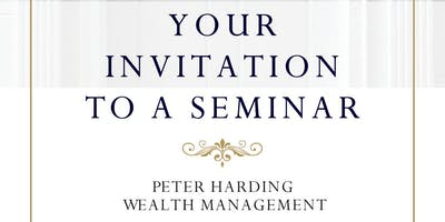 Peter Harding Wealth Management Pension & Tax Planning Evening Seminar