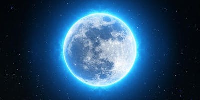 Full Moon Crystal Sound Transmission