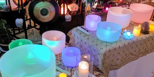 Sound Healing New Moon Intentions & Chakra Balancing