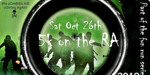 Zombie Fun Run '5K on the RA' (FEW SPACES LEFT)