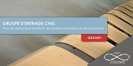 AQDC : Groupe d'entraide CHUL billets
