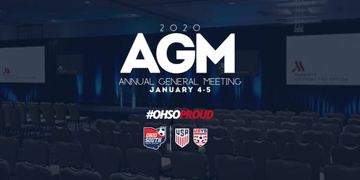2020 Ohio South Annual General Meeting (AGM)