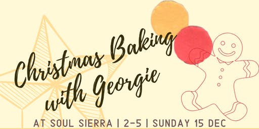 Christmas Baking with Georgie - For Families!