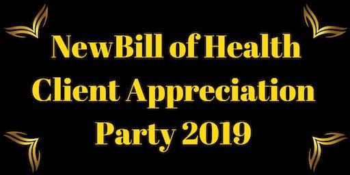 NewBill of Health Client Appreciation Party 2019