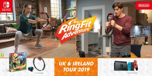 Ring Fit Adventure - UK & Ireland Tour 2019 - Dublin
