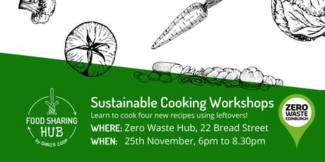 Sustainable Cooking Workshop tickets