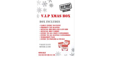 Hip Hop International Ireland Xmas Box 2020
