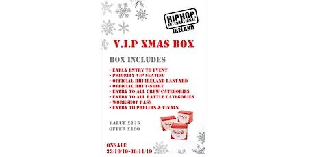 Hip Hop International Ireland Xmas Box 2020 tickets