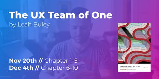 The UX Team of One (Part 1/2) // CPHUX Book Club