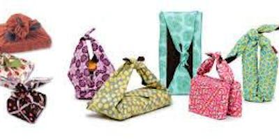 Furoshiki - embrulhos e arte em tecido!
