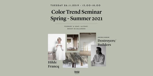Color Trend Seminar Spring-Summer 2021