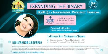 SunServe LGBTQ+/Transgender Proficiency Training tickets