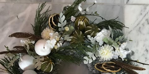 Festive Wreath Making Workshop with Brunch