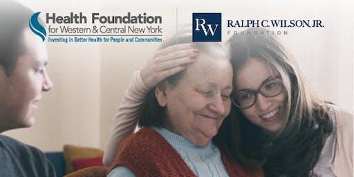 Communities Care WNY Family Caregivers Respite Pilot Program Kick-off Event