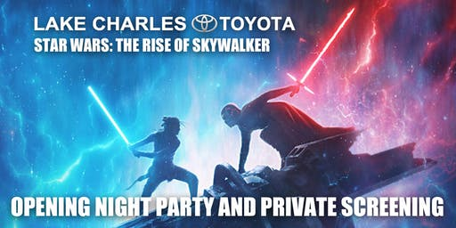 3D Star Wars: Rise of Skywalker Opening Night Party and Private Screening
