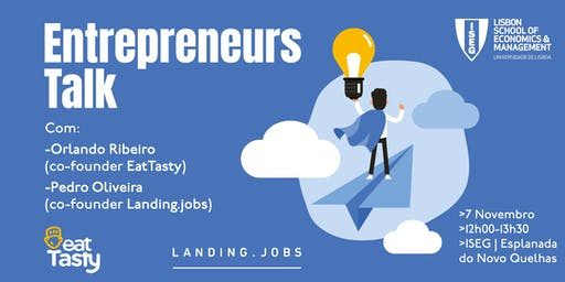 ISEG Entrepreneurs Talk - Nov 7