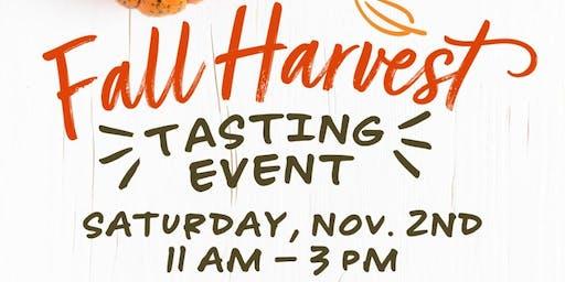 Fall Harvest Tasting Event