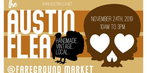 November Austin Flea at Fareground Market