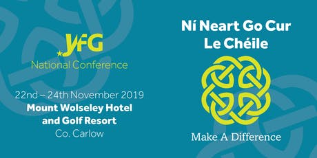 Young Fine Gael National Conference 2019 tickets