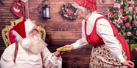 Cookies with Mr. & Mrs. Claus tickets