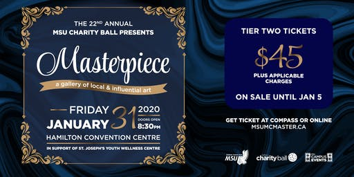 Charity Ball 2020: Masterpiece