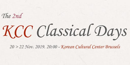 KCC Classical Days -  Jeewon KIM Trio
