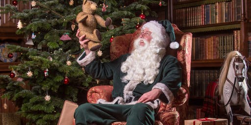 SOLD OUT-Father Christmas visits Knightshayes: 7 & 8 December