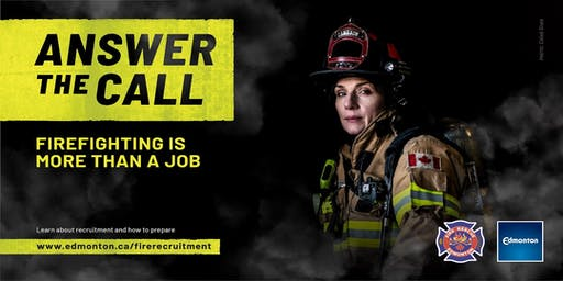 Edmonton Fire Rescue Services Recruitment Information Session