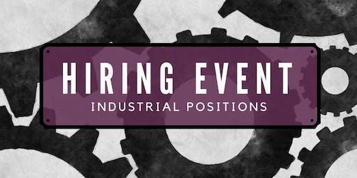 Manufacturing Hiring Event
