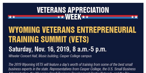 Wyoming Veterans Entrepreneurial Training Summit