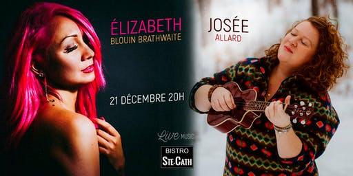 Élizabeth Blouin Brathwaite et Josée Allard