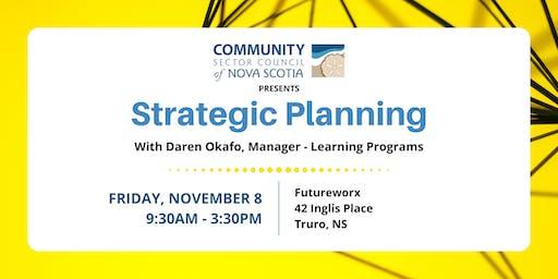 Strategic Planning Workshop - Truro