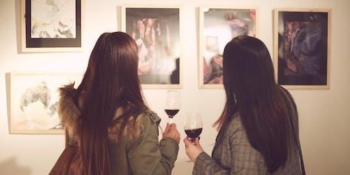 Lienzo en Tinto (noches de arte y vino)