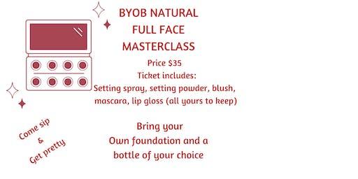 BYOB Natural Full Face Makeup Class