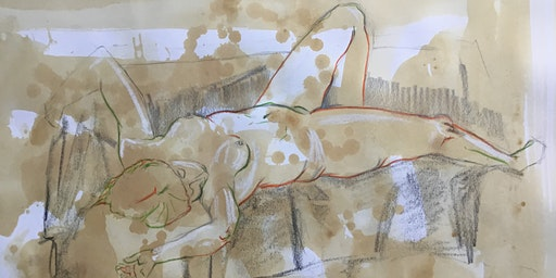 Life Drawing Class (Tutored - short poses and one long study)