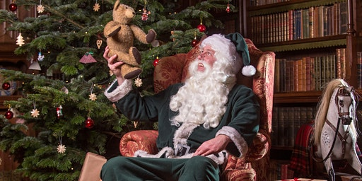 SOLD OUT-Father Christmas visits Knightshayes: 14 &15 December
