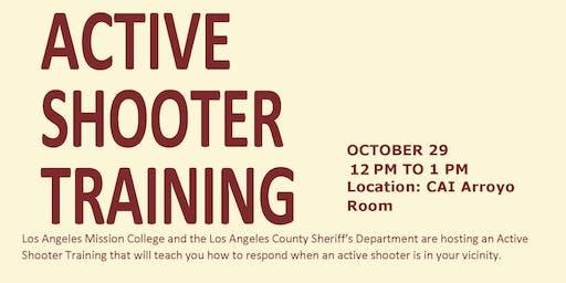 LAMC ACTIVE SHOOTER TRAINING