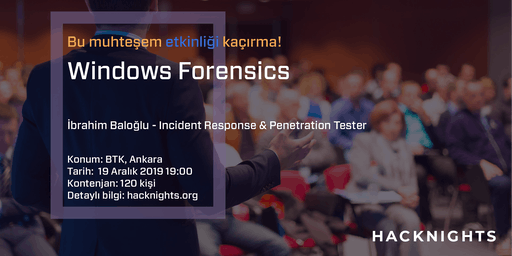 Windows Forensics | hacknights.org