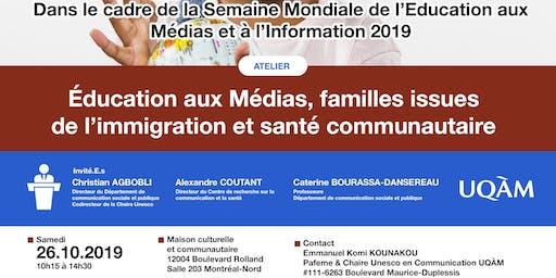 L'UNESCO à Montréal-Nord : Sensibilisation aux Médias et à l'Information