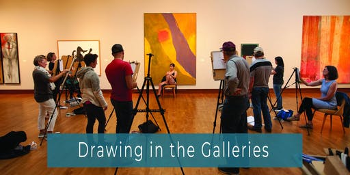Drawing in the Galleries