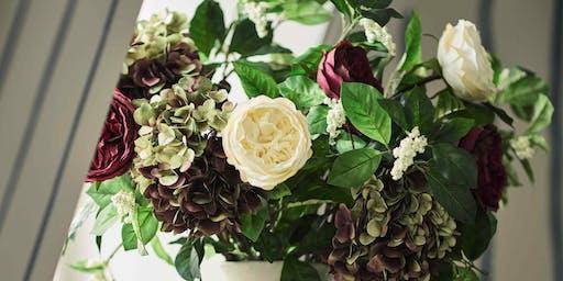 Festive Flower Arranging with the RHS at OKA Harrogate