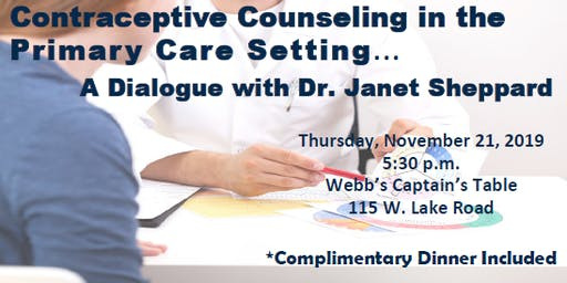 Contraceptive Counseling in the Primary Care Setting