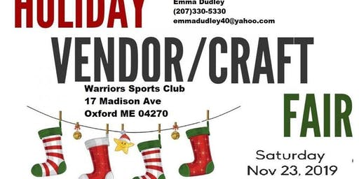 Holiday Vendor/Craft Fair