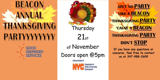 Beacon Annual Thanksgiving Partyyy