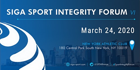 SIGA Sport Integrity Forum VI - New York City tickets