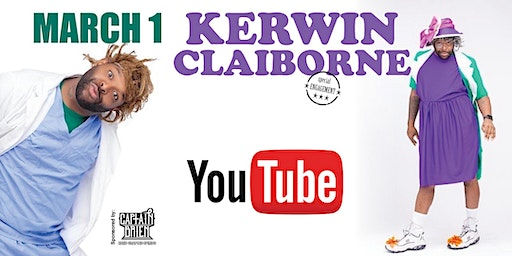 Comedian Kerwin Claiborne Live In Naples, FL Off The Hook Comedy Club