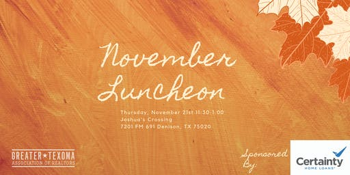 GTAR November Luncheon