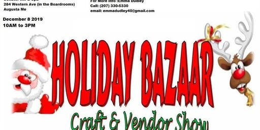 Holiday Bazaar Craft & Vendor Fair