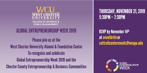 WCU College of Business Reception 2019
