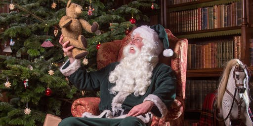 Father Christmas visits Knightshayes: 21 & 22 December